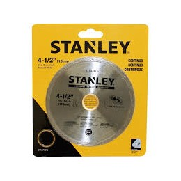 Disco 115 X 0.080 X 5 Stanley Continuo