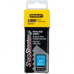 Grapas 1/4 Heavy Duty Staples-cor.ang.x1000 Stanley