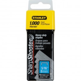 Grapas 5/16 Heavy Duty Staples-cor.ang.x1000 Stanley