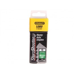 Grapas 3/8 Heavy Duty Staples-cor.ang.x1000 Stanley