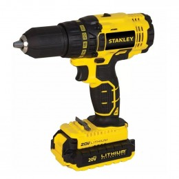 Taladro Inal.de Ion Litio 13mm 20v Stanley