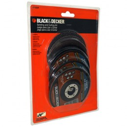Kit P/cortar Y Lijar  Black & Decker (u1000a)