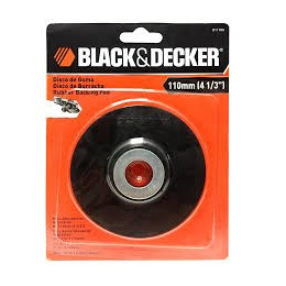 Disco De Goma 110mm Black & Decker (u1110a)