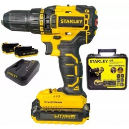 Tal. Inal. Brushless.de Ion Litio 13mm 20v Stanley